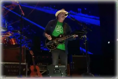 Neil Young at Farm Aid 2012